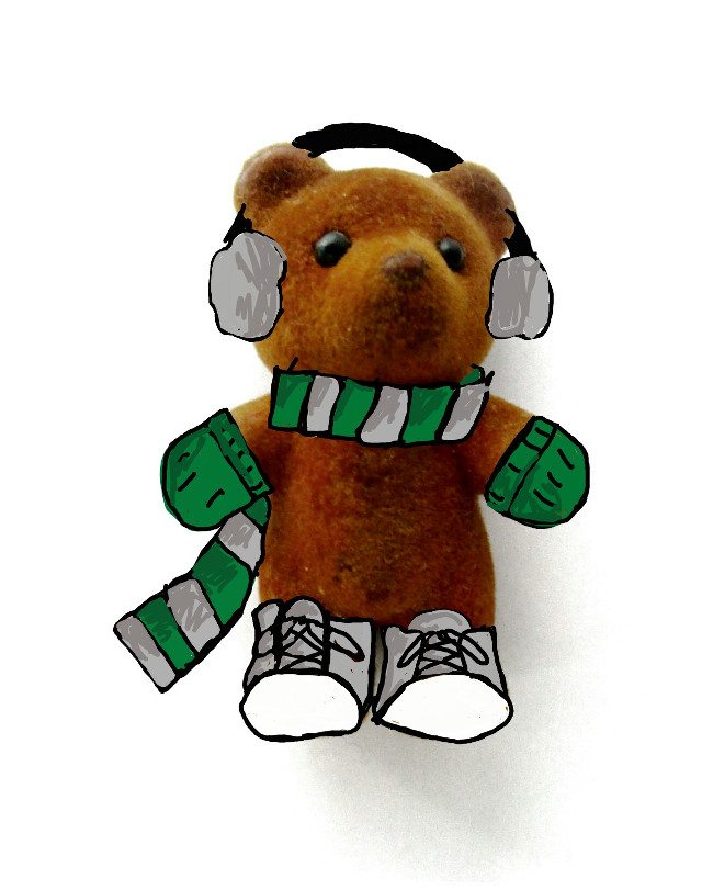#FreeToEdit #remix #harrypotter #slytherin #bear