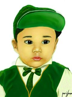 wdpsketchportrait baby cute emotions love