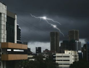 cloudysky thunder moonsoon freetoedit photography