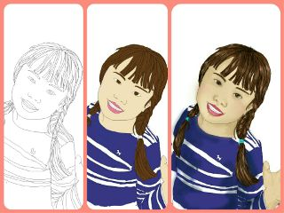 draw tracing nana freetoedit