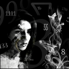 darkart death abstract numbers surreal freetoedit