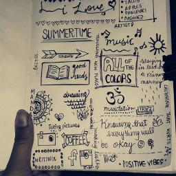 freetoedit doodle black art bymeeee