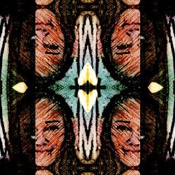 collage emotions kaleidoscope freetoedit