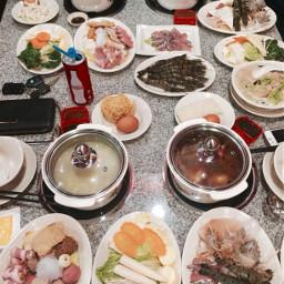 steamboat pork chicken seafood foodlove