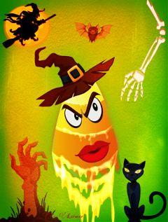 freetoedit remix halloween colorful cute