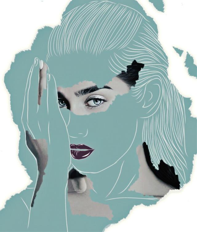#pencilart #laurenjauregui #blueeyes