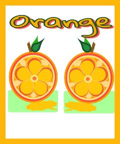 freetoedit oranges fruits art food