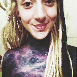 wordart smyle dreads girl nude freetoedit